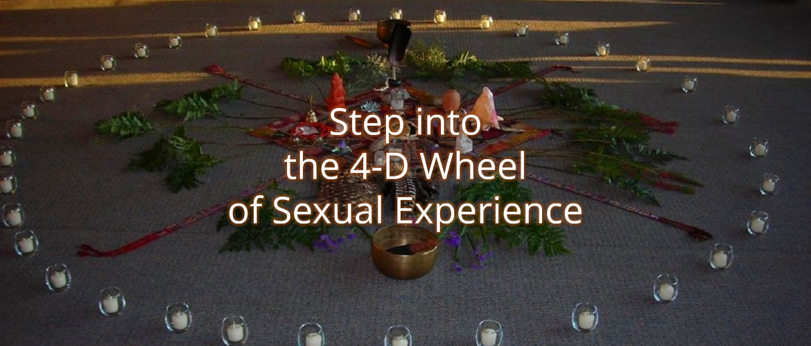 Gina Ogden, PhD, LMFT Integrating Sexuality and Spirituality (4-D Wheel)
